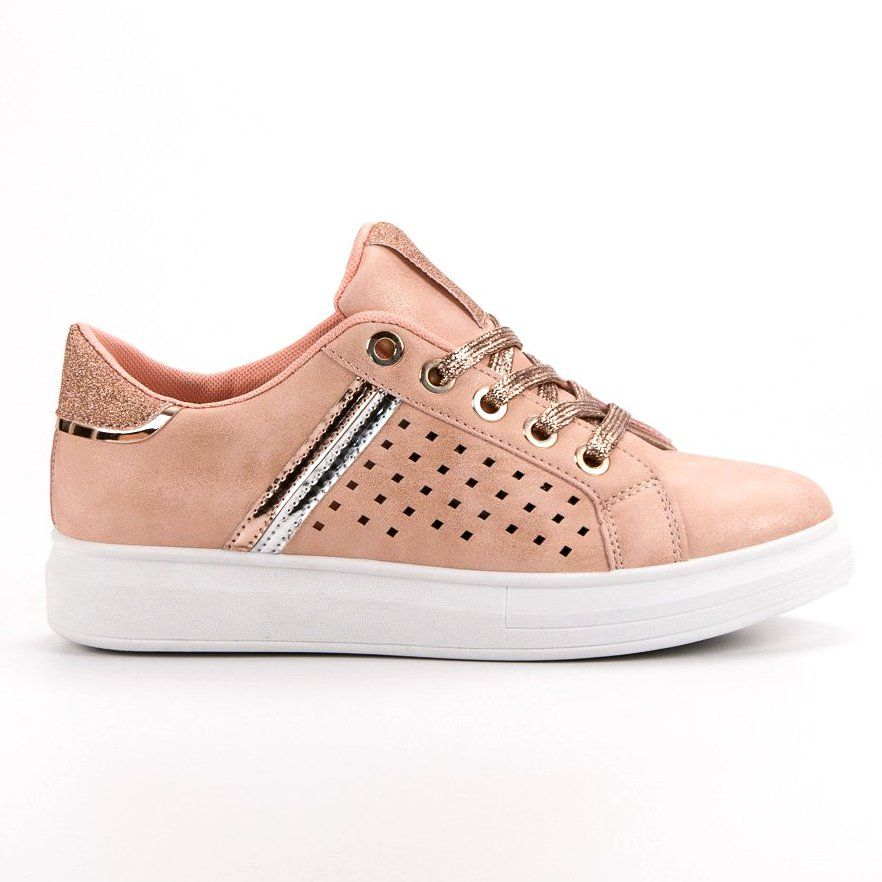 Modne Buty Sportowe Rozowe Sport Shoes Shoes Women Shoes