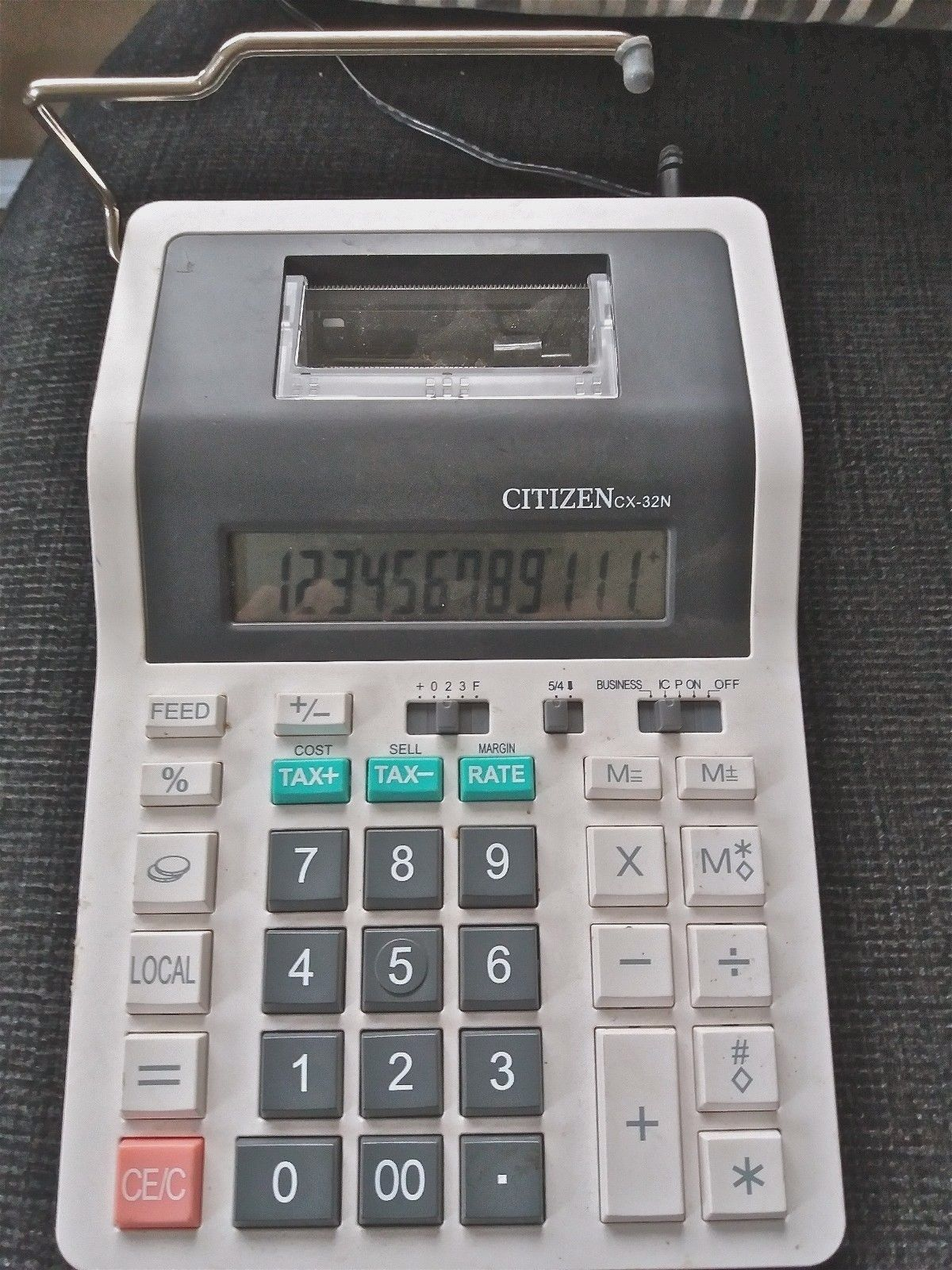 Citizen Cx32n Portable Printing Calculator View More On The Link Http