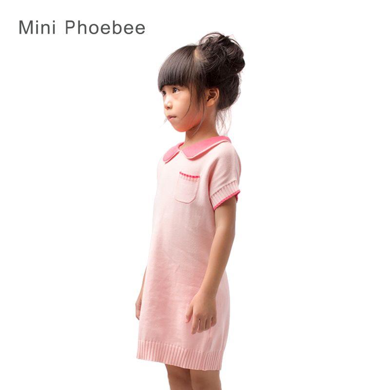c45fb2b29bb9 girl sweater dress 100% cotton sweater dress girl pink kids sweater ...