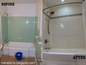 S Green Bathroom Overhaul We Bought A S Brick Ranch Home - 60s bathroom remodel