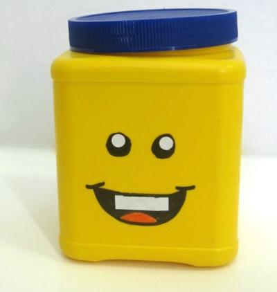 Diy Lego Storage Head Lego Storage Diy Storage Containers Lego