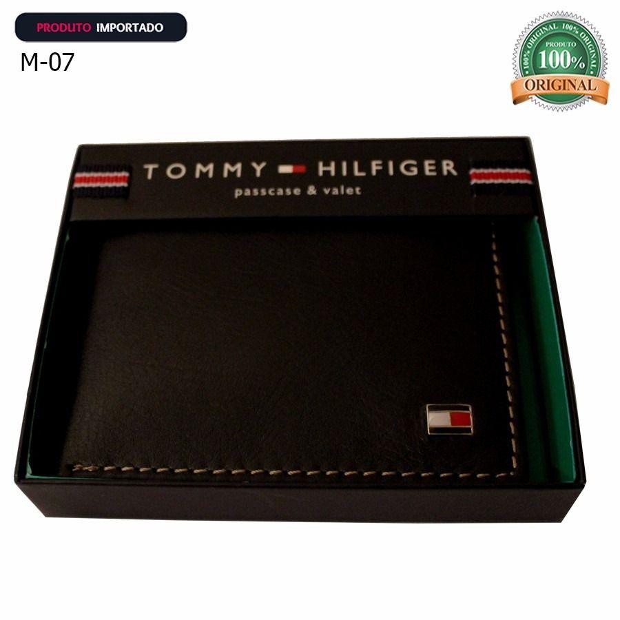 carteira masculina couro tommy e melhores marcas original  66c289dbdd0