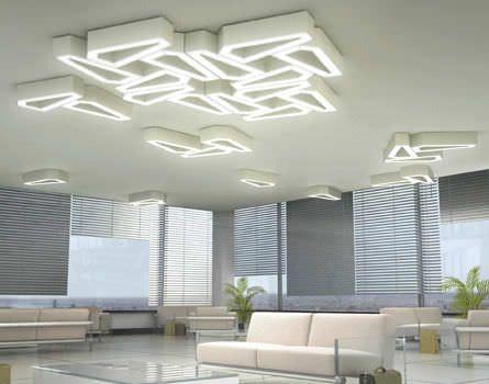 Original Design Ceiling Light / Plastic / LED DNA Beta Calco