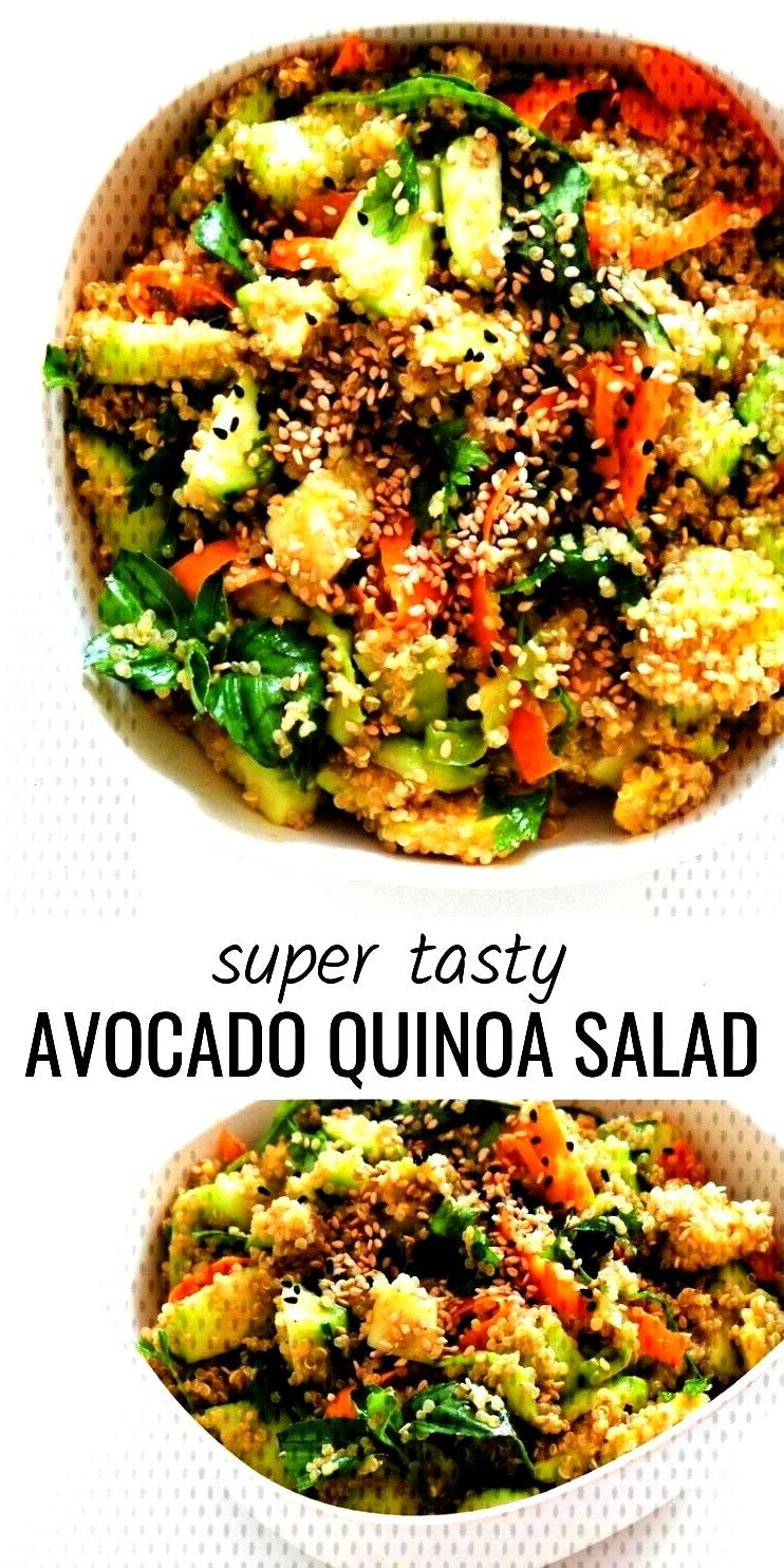 Avocado Quinoa Salat Rezept - Easy amp Vegan - Beauty Bites Das beste Avocado Quinoa Salat Rezept - E