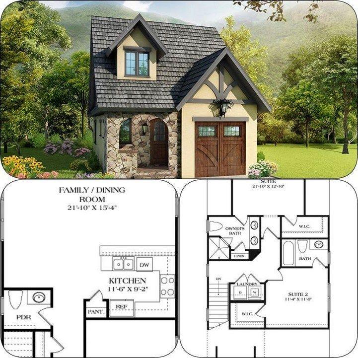 47 Adorable Free Tiny House Floor Plans 39 Tiny House Floor Plans House Blueprints Cottage Floor Plans