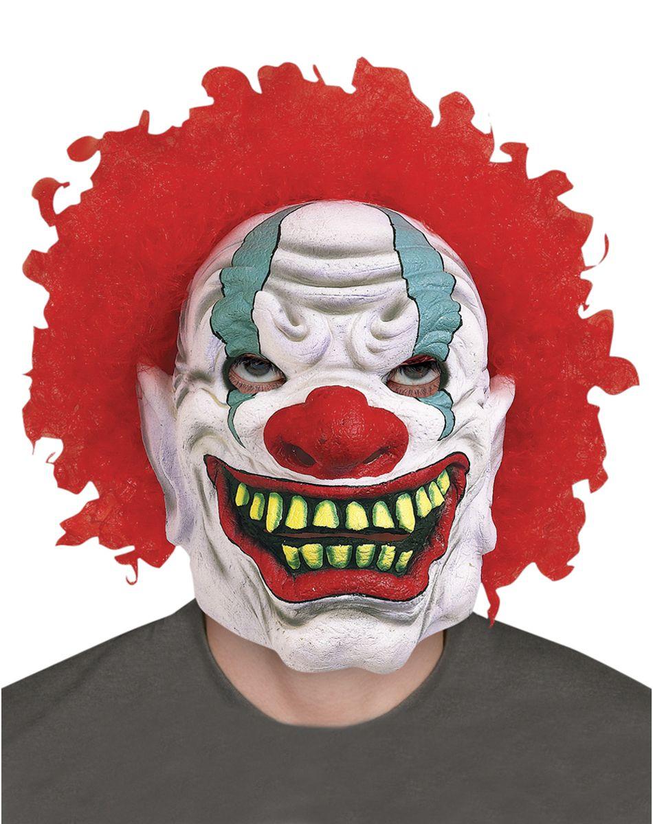 Foamy the Clown Mask Spirit Halloween Spirit halloween