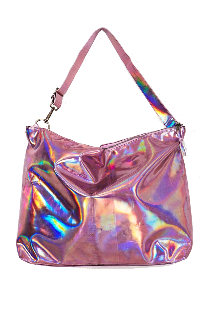 9eb9d78095cc5 accessories, bags, purses, pink, rainbow, holographic | Accessories ...