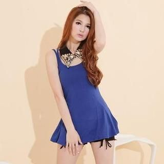 Dual-Strap Long Tank Top from #YesStyle <3 KANA YesStyle.com