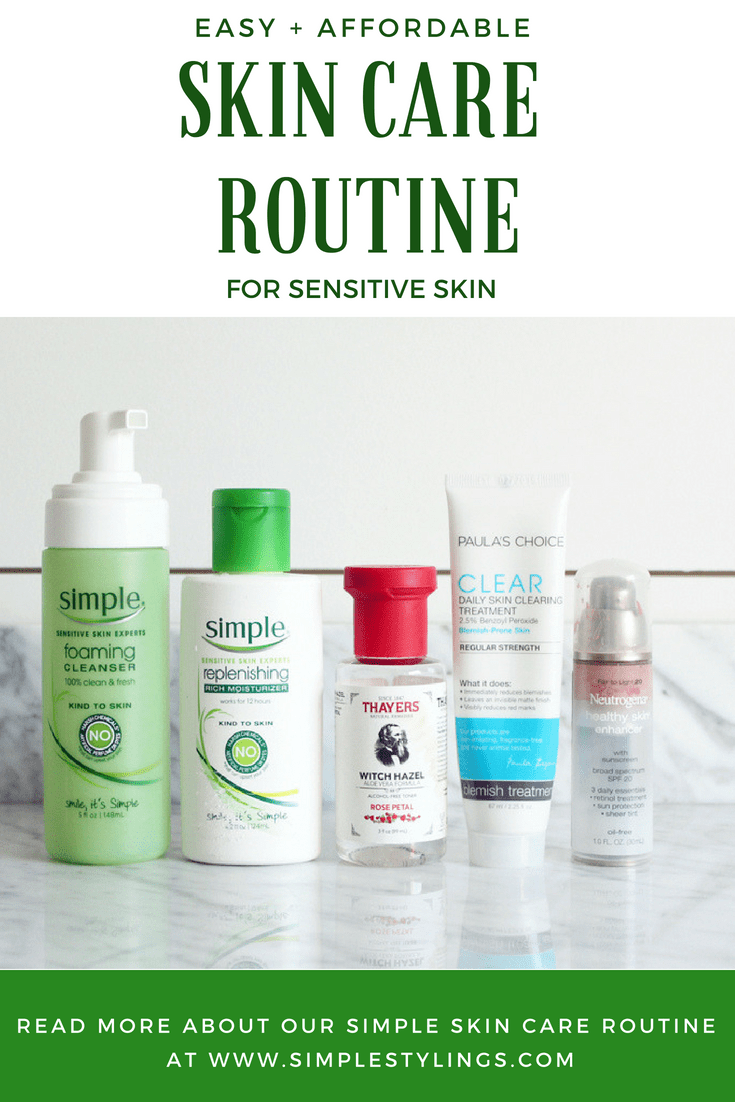affordable skin care routine