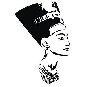Free Vector Art Graphics Beautiful Nefertiti Nefertiti Tattoo Egyptian Tattoo Nefertiti