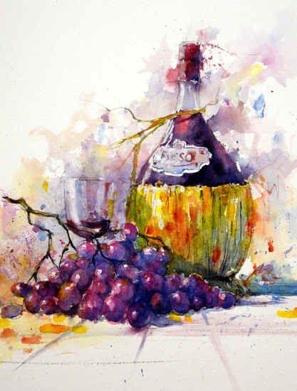 6069 Chianti  #watercolor jd