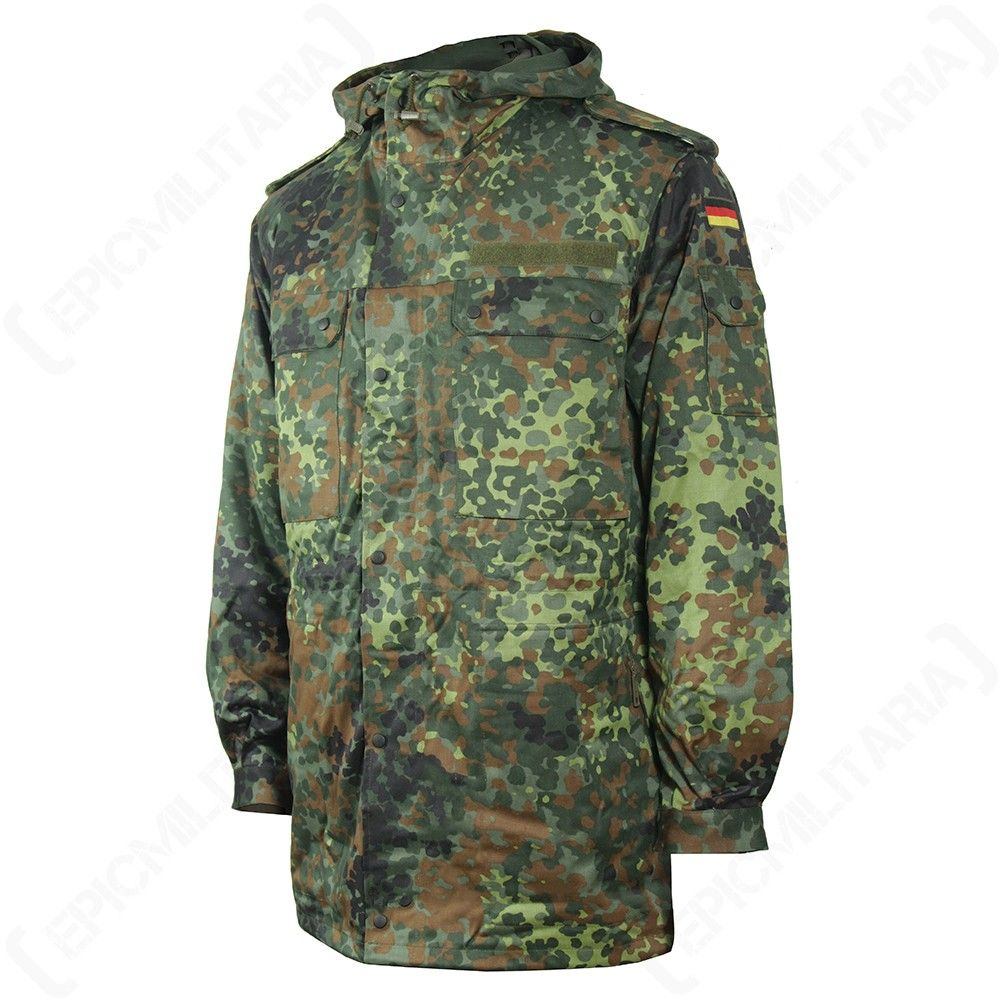 Flecktarn Camo Bundeswehr Field Jacket | Army field jacket