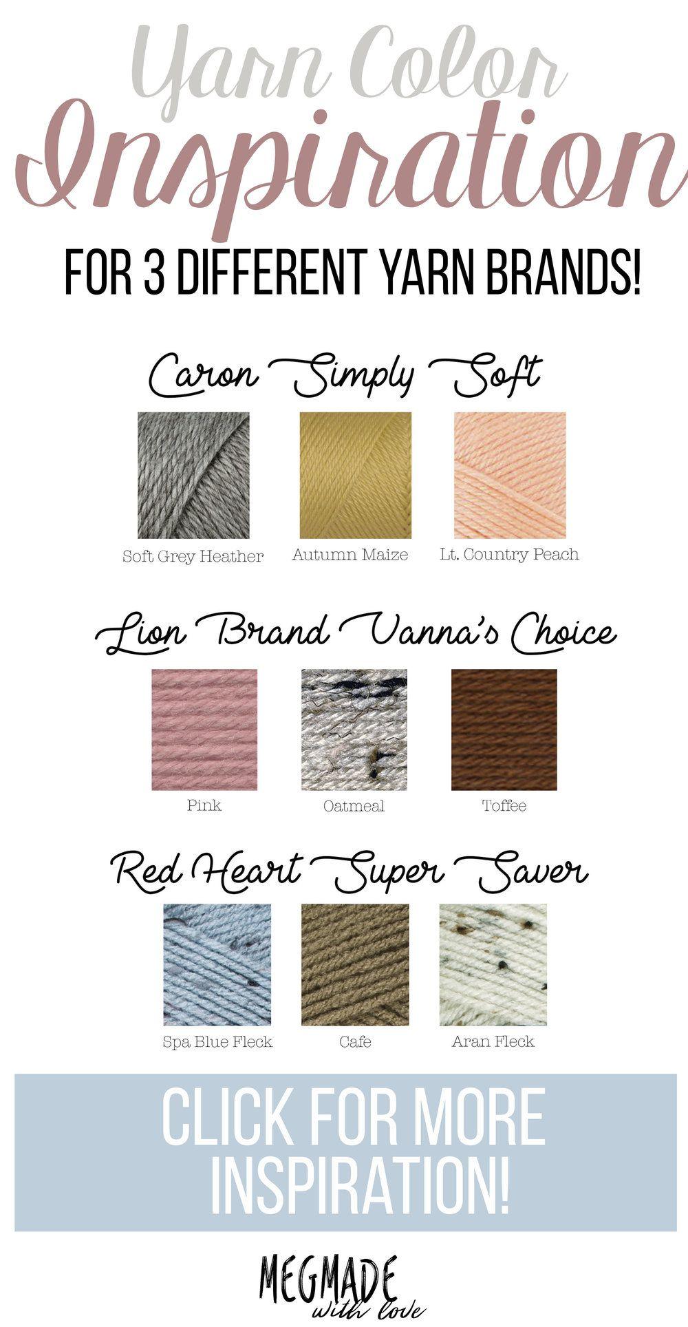 Oh-So-Inspiring Yarn Color Combination Inspiration!