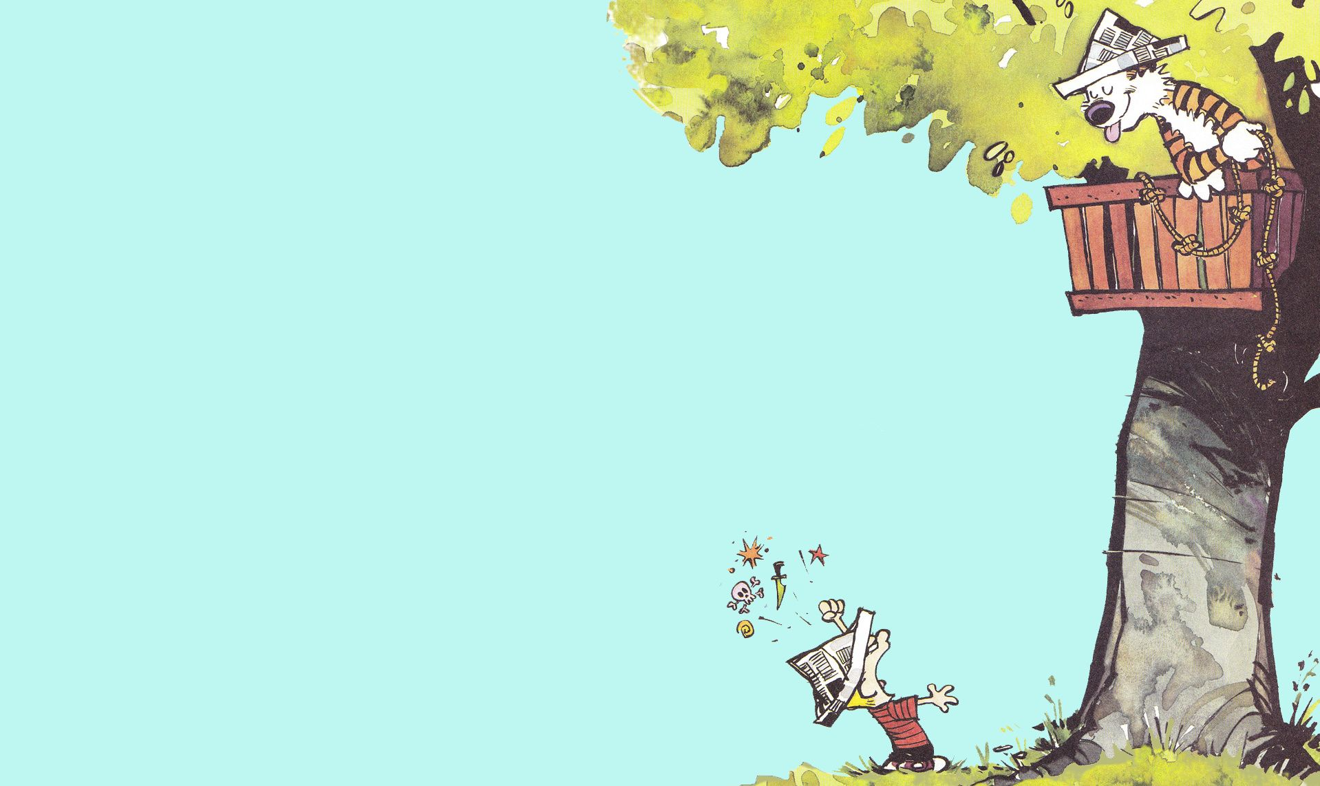 ~I love Calvin and Hobbes!~
