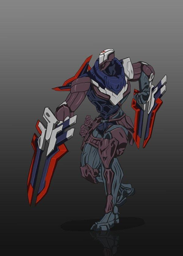 The cyber ninja(Anime/Manga style). fanart based on the ...  The cyber ninja...