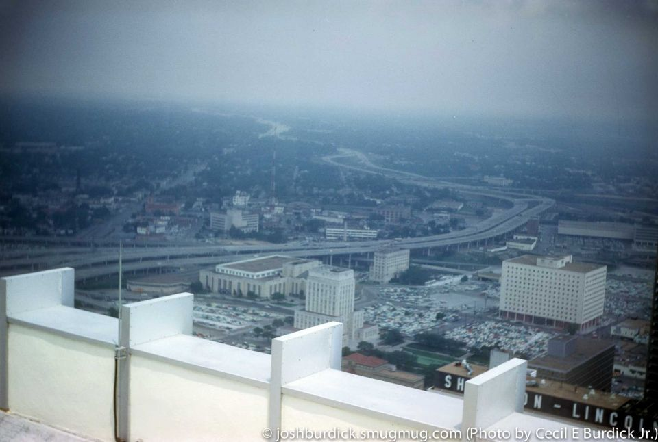 The City Of Houston As Seen In Kodachrome Photos Shot In The 50s And 60s City Photoshoot Aerial View