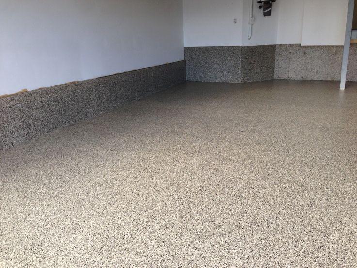 Gunflint Garage Epoxy Flooring Calgary Alberta Epoxy Floor Garage Floor Tiles Garage Floor