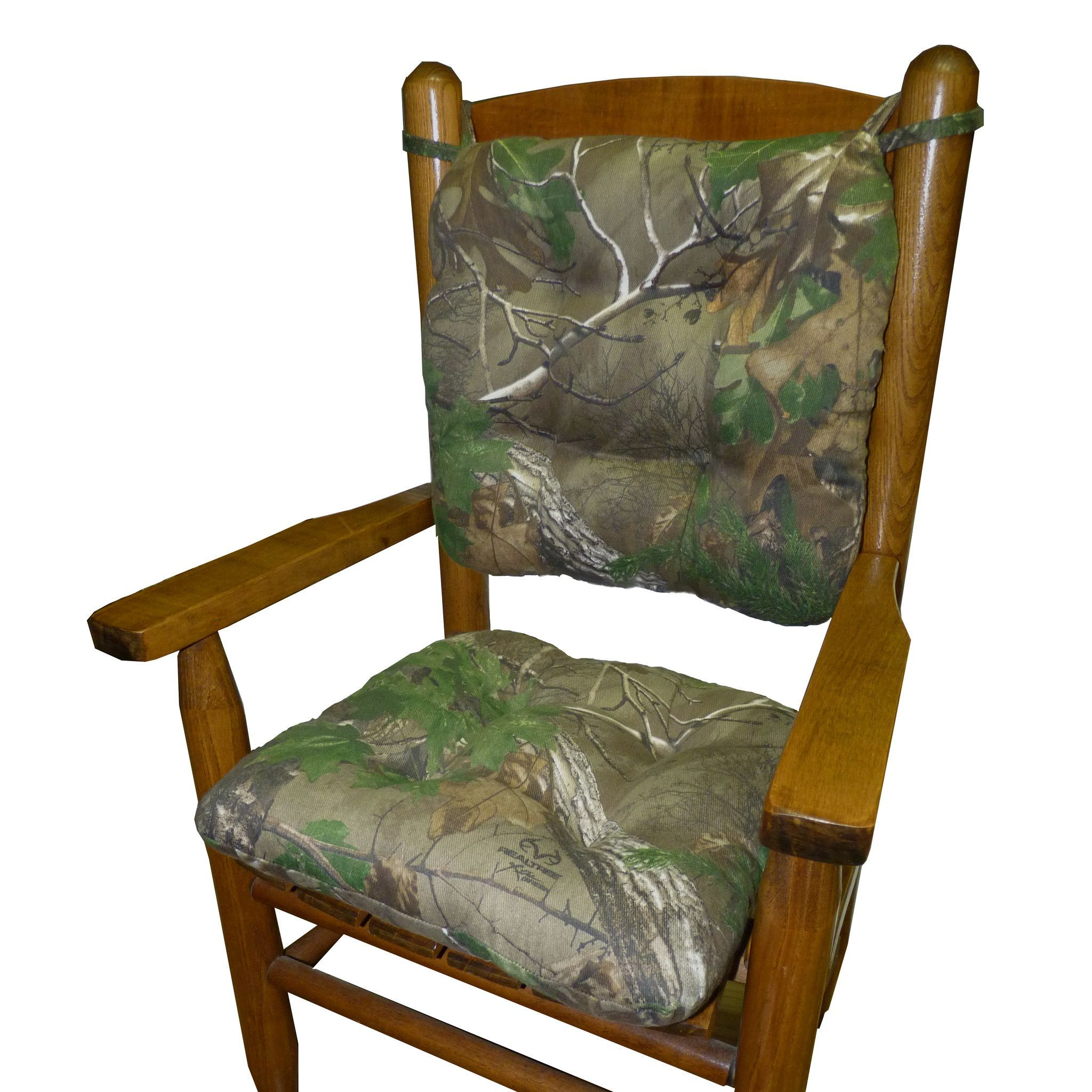 Child Rocking Chair Cushions Realtree Xtra Green (R
