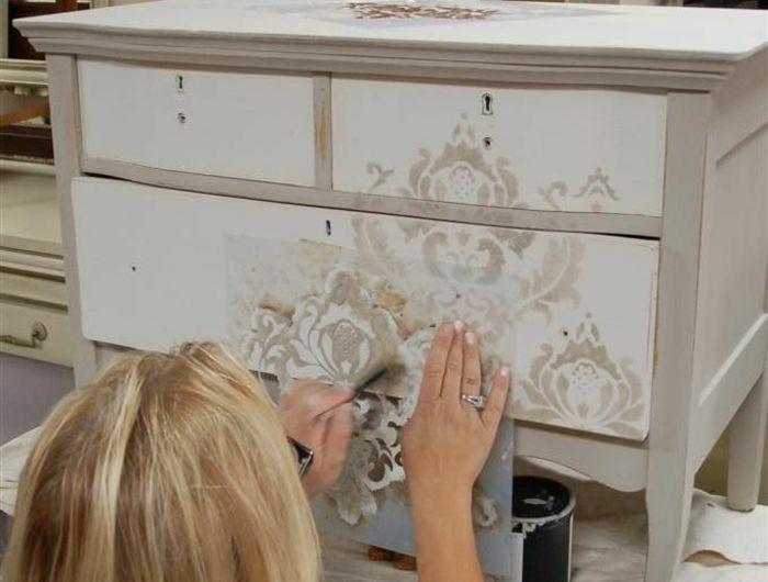 Comment repeindre un meuble? Une nouvelle apparence! Ethnic chic - comment repeindre un meuble vernis