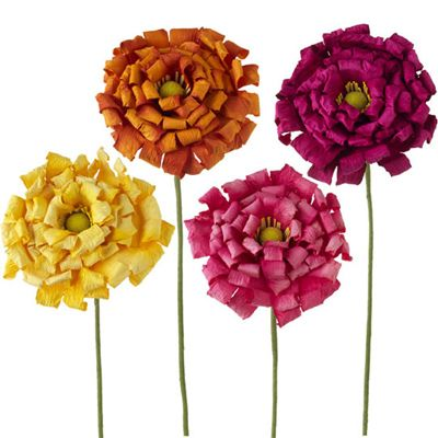 Raz summer aster paper flower set of 4 assorted paper flowers orange raz summer aster paper flower set of 4 assorted paper flowers orange yellow pink and hot mightylinksfo Choice Image
