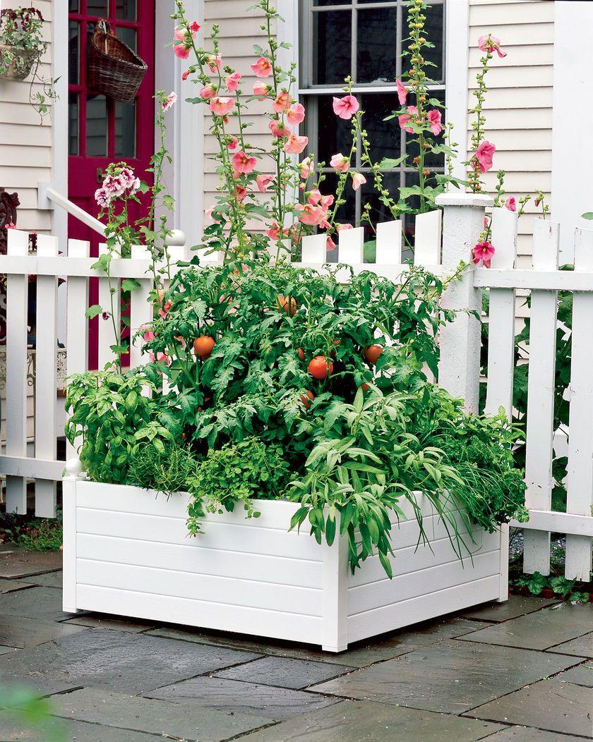 Self Watering Raised Planter Beds Gardeners Com Raised Garden