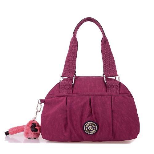 New Fashion Women Handbag Waterproof Nylon Zipper Durable Shoulder Crossbody Bag Tote