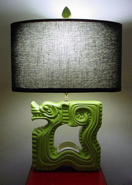 Royal Haeger Dragon Lamp Lamp Vintage Lamps Vintage Ceramic