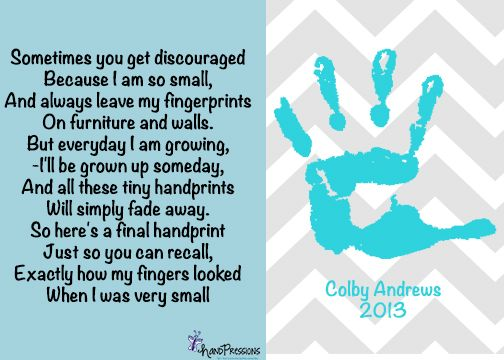 graphic about Sometimes You Get Discouraged Handprint Poem Printable referred to as From time to time by yourself take disappointed Considering that I am consequently minor, And