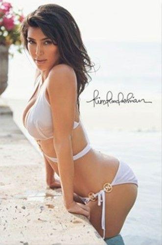 Kim kardashian poster sexy