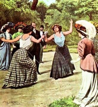 Ladies Sword Duel Artwork By Atstoy Victorian Fencing Jacket
