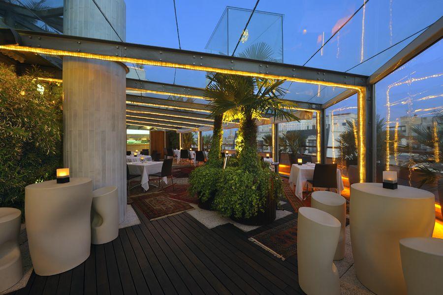 La Terraza Del Claris Barcelona Restaurant Claris Hotel Restaurante Terraza Restaurantes Hotel De Lujo