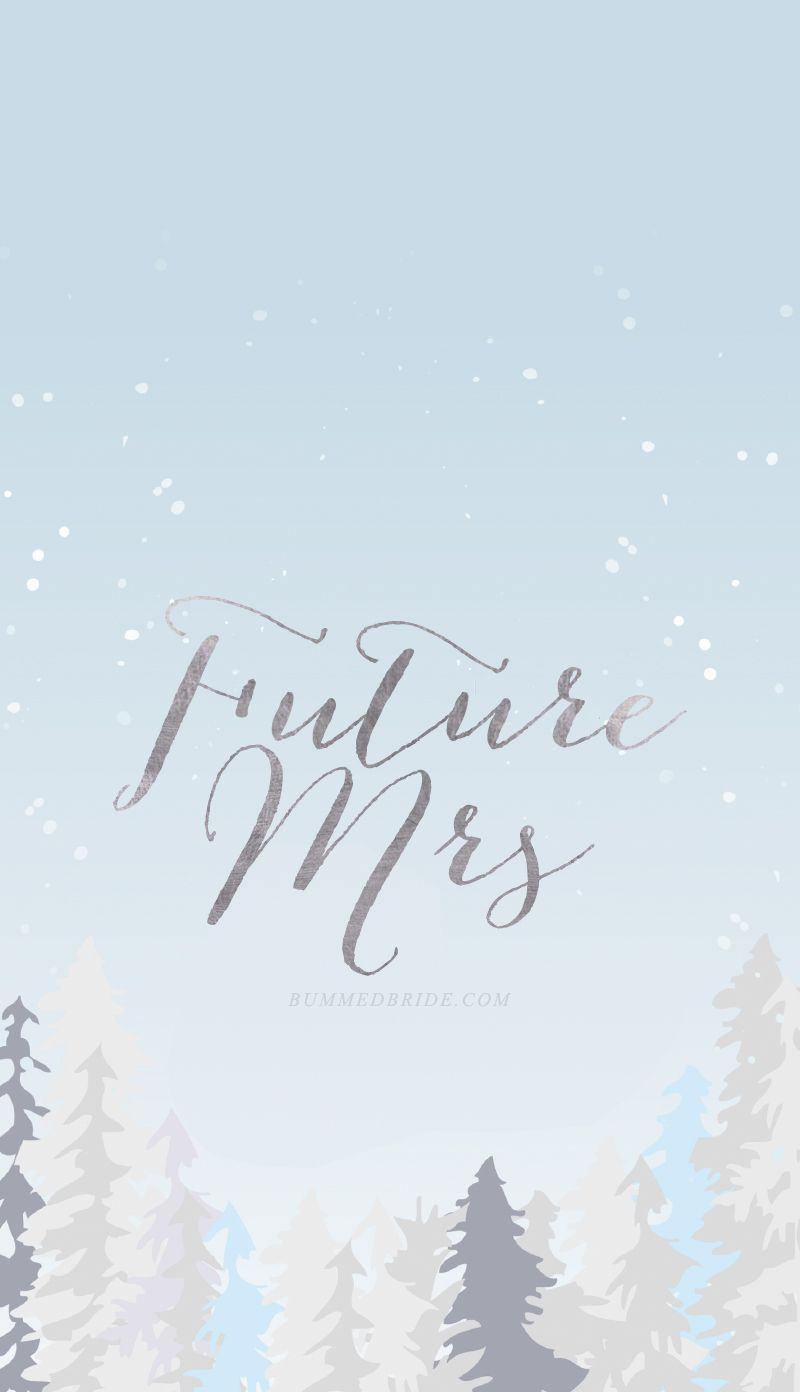 Future Mrs Tech Wallpapers Winter Edition Bumps And Bottles Iphone Wallpaper Winter Iphone Wallpaper Wallpaper Wedding