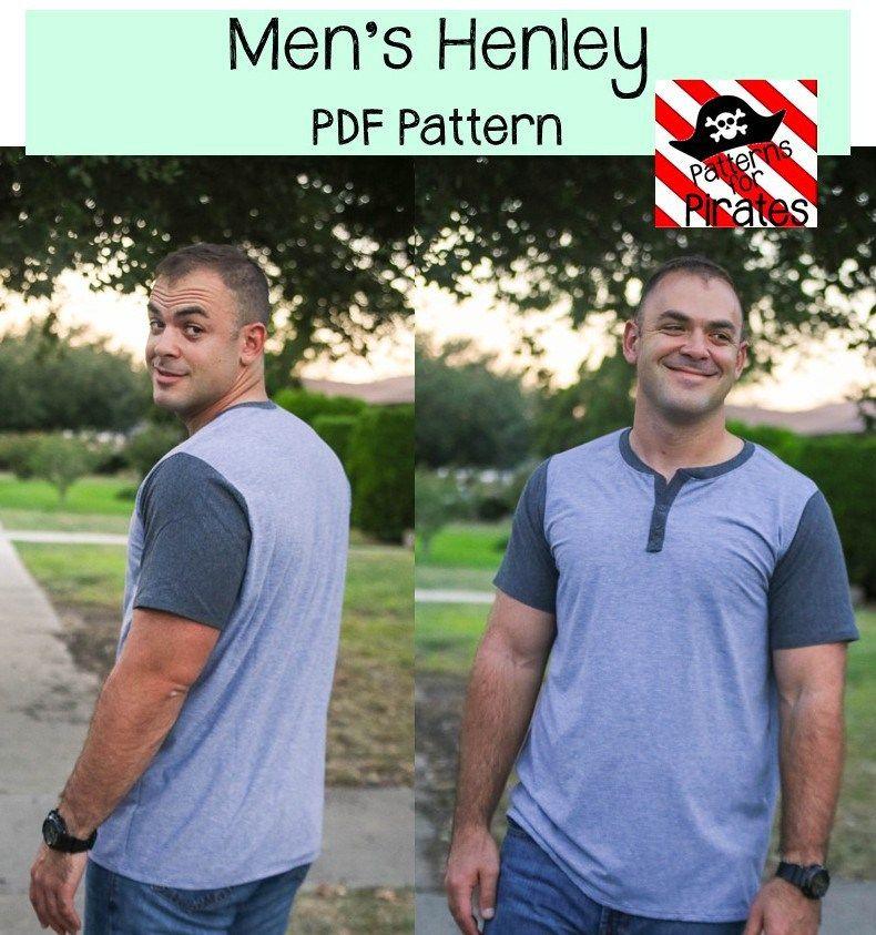 Men\'s Henley | Patterns for Pirates | Pinterest