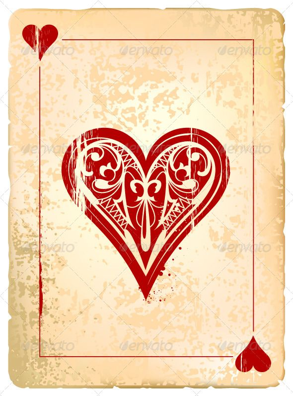 ace of hearts cards card templates and cards