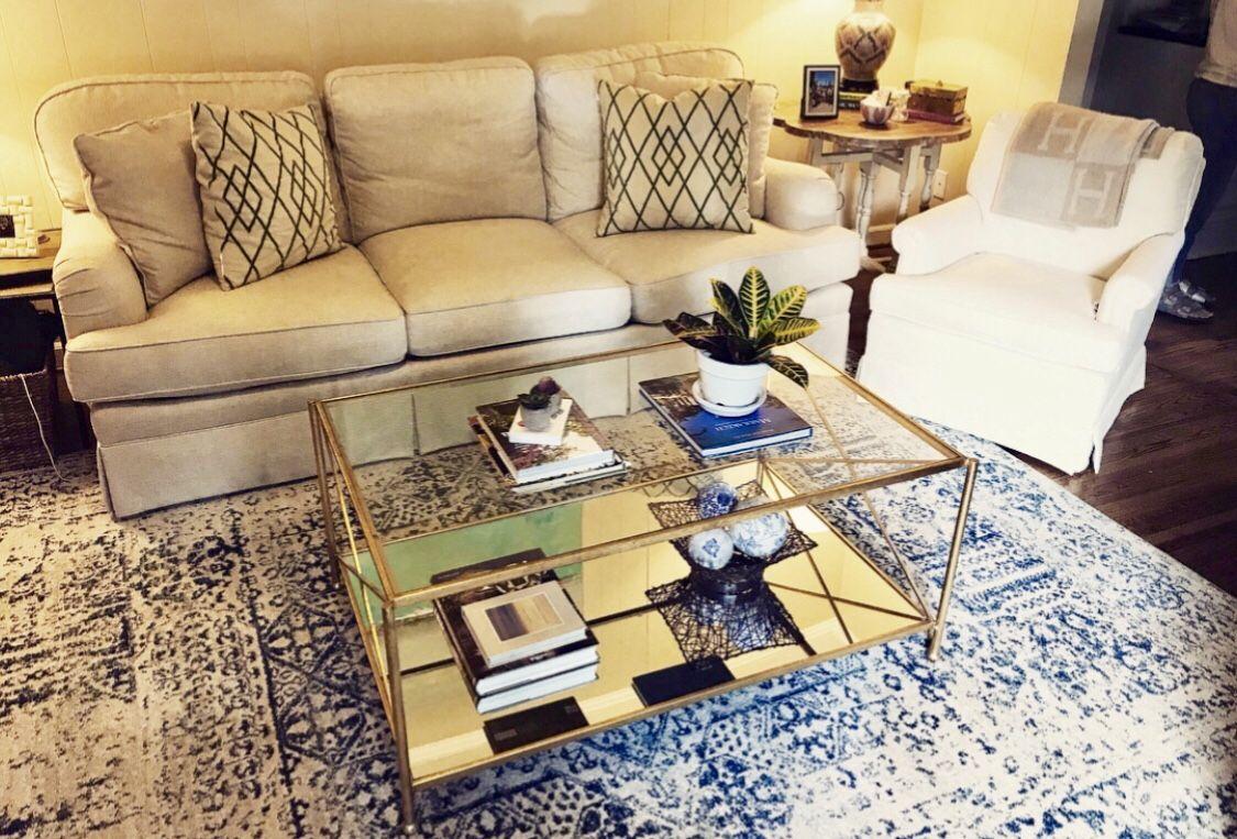 Iris Gold Leaf 2 Shelves Coffee Table Coffee Table Coffee Table Book Design Glass Table Living Room [ 763 x 1125 Pixel ]