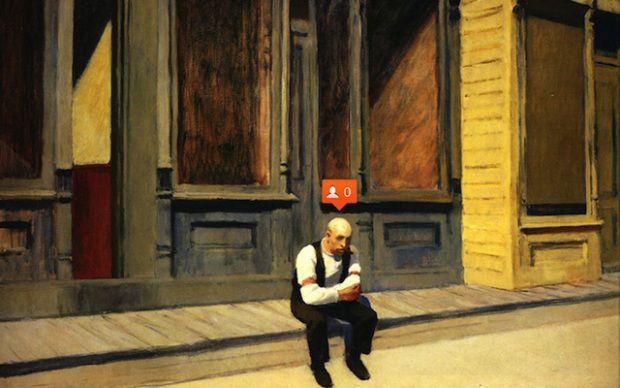 The Art of Social Media, would Hopper approve?