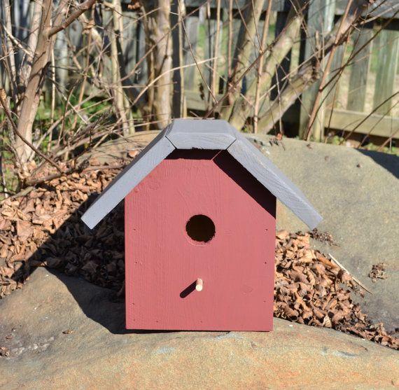 Tweet Bird House by TweetBirdhousesETC on Etsy