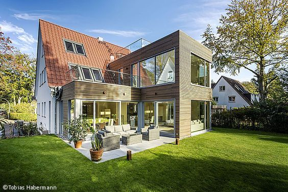 Anbau Satteldach Anbau haus, Architektur, Haus