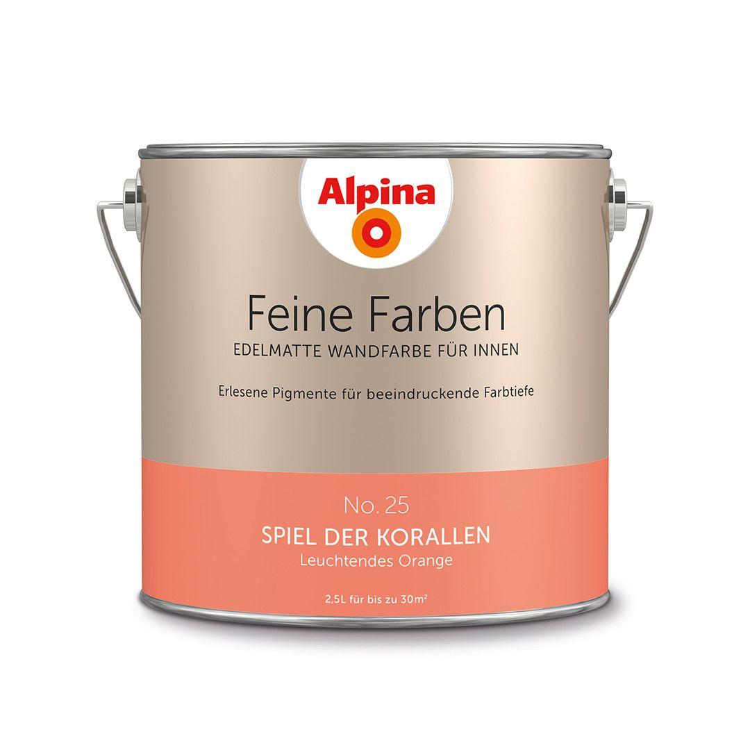 alpina feine farben no. 25 – spiel der korallen. #design #diy, Innenarchitektur ideen