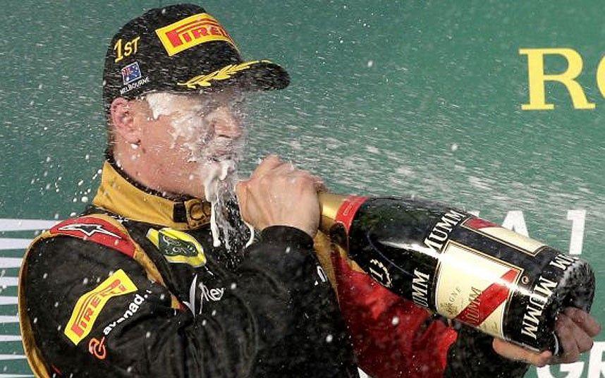 Australian Grand Prix 2013: Kimi Raikkonen wins opener from Fernando Alonso as Sebastian Vettel takes third - Telegraph