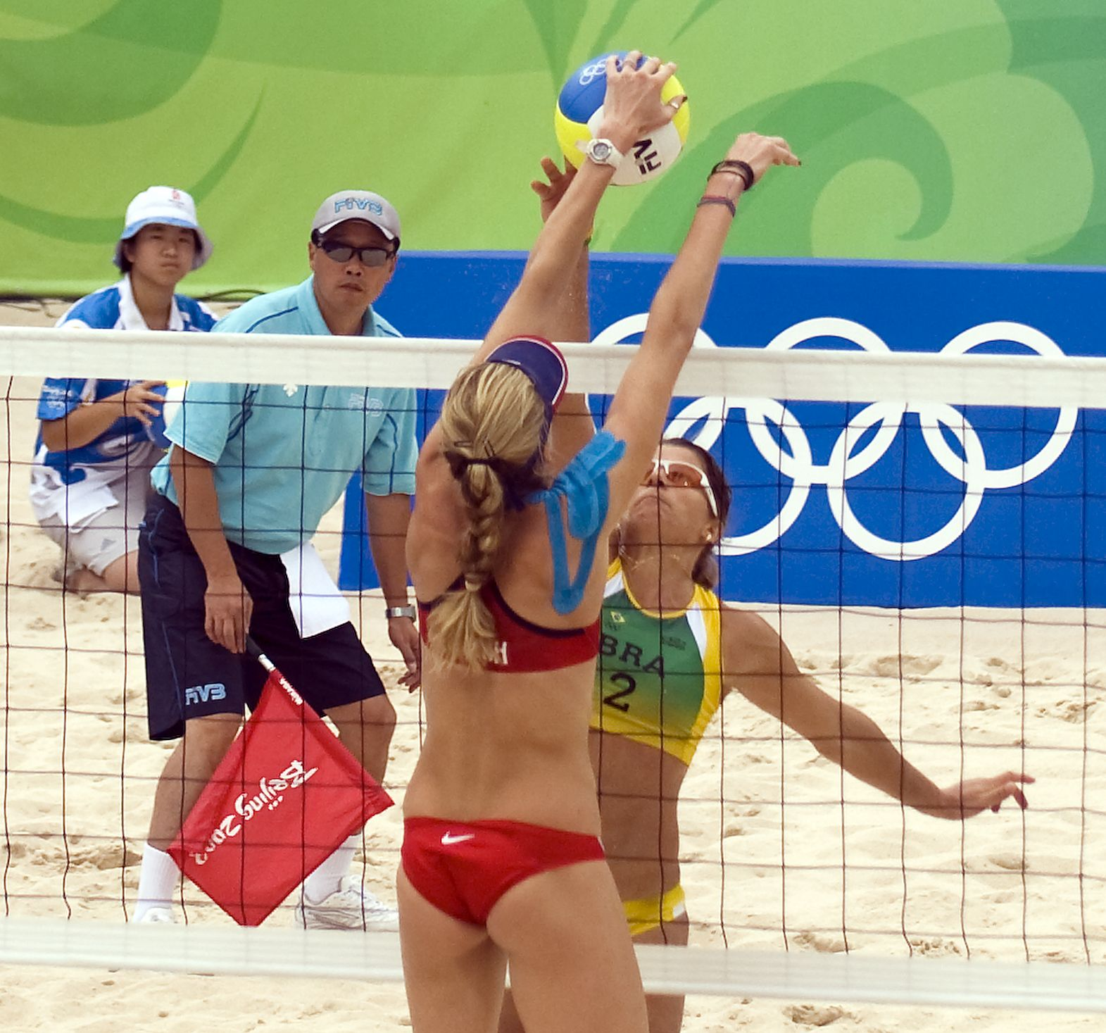 Olympic Beach Volleyball Beach Volleyball Women Volleyball Olympics
