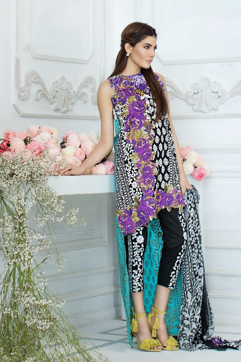 Latest summer dresses 2018 in pakistan
