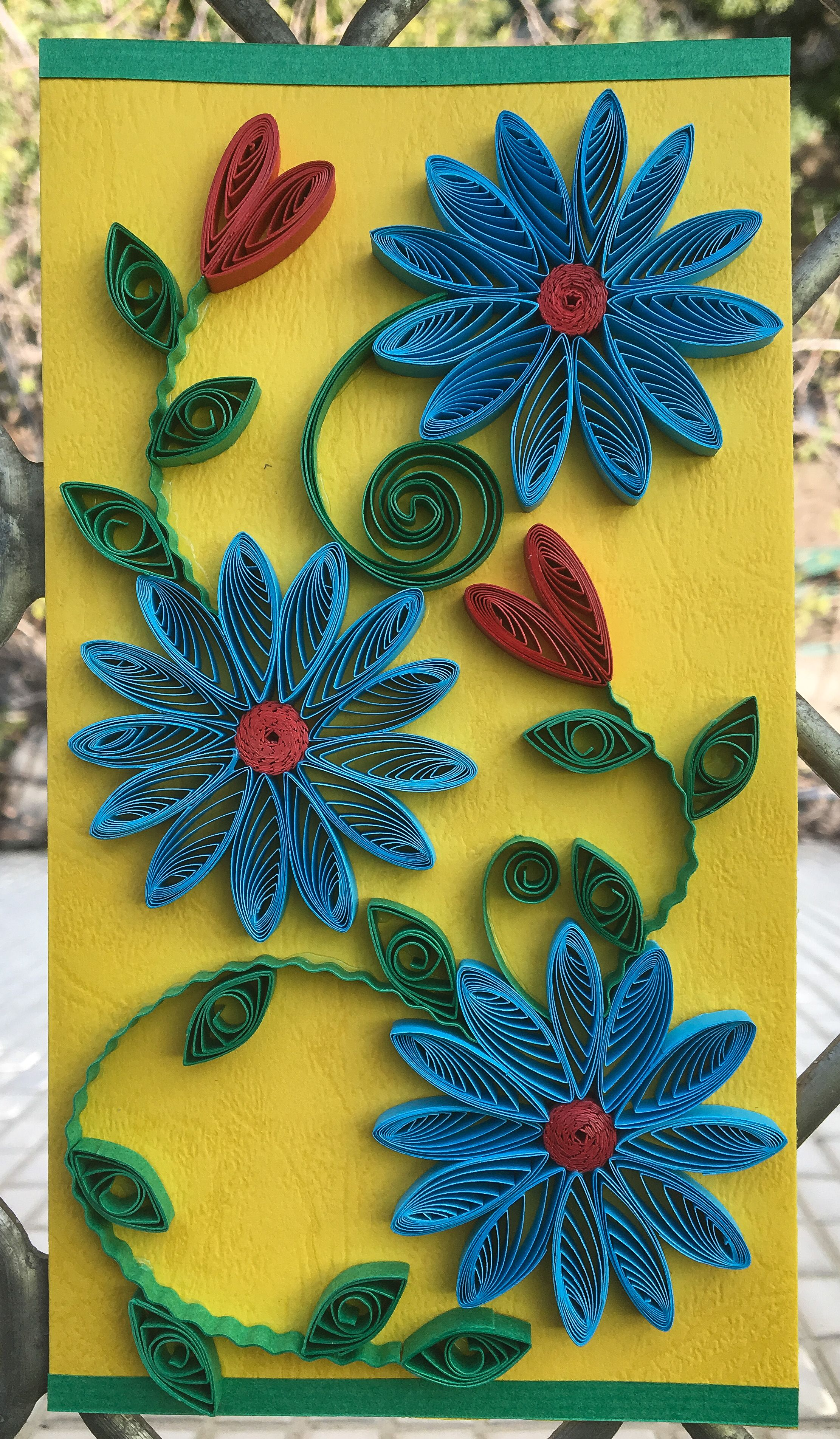 Pin by Manasvi Chawda on Handmade with love .....Quilling Creations ...