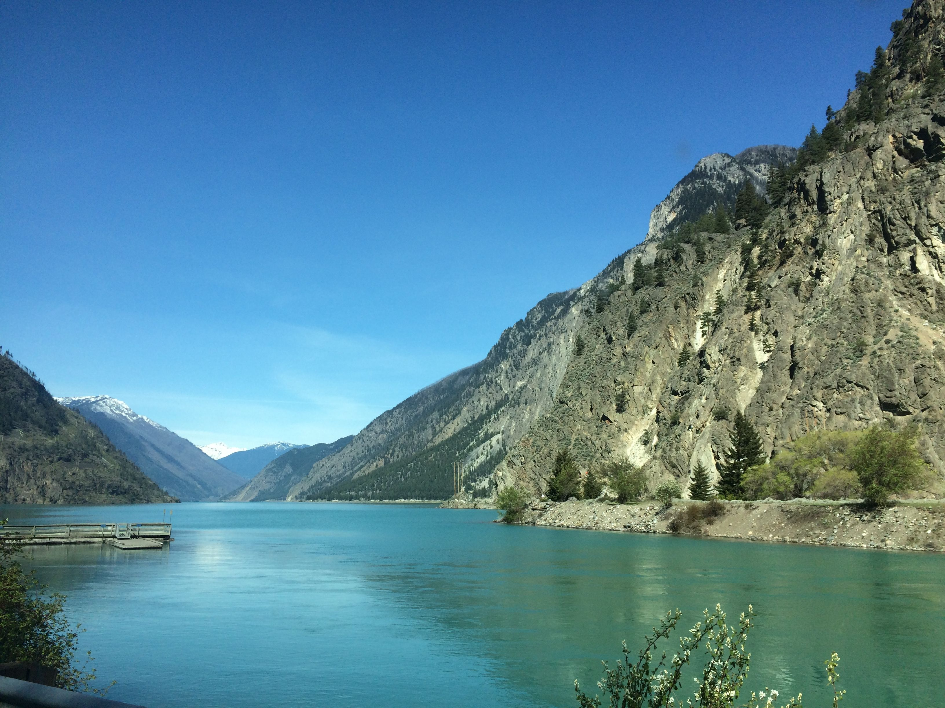 Seaton Lake, Lillooet BC Canada