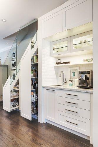 20+ Amenager une cuisine sous un escalier trends