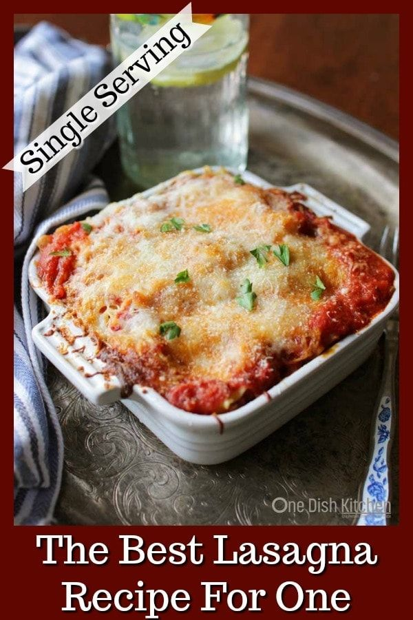 Photo of A classic recipe for the best homemade lasagna! This mini la…