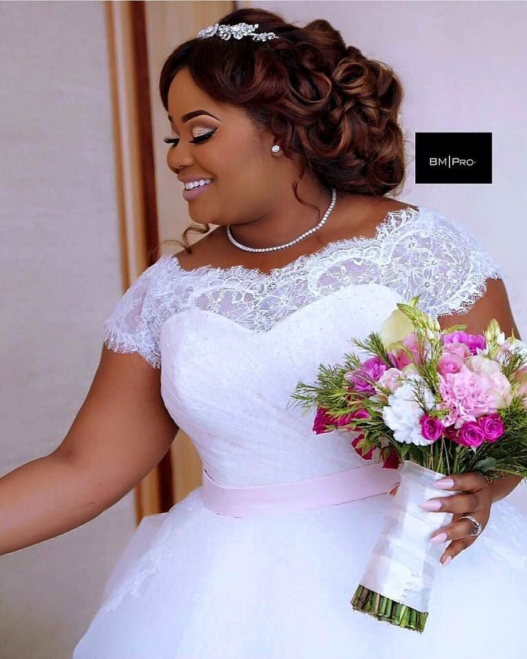 20 African American Wedding Hairstyles On Natural Hair Plus Size