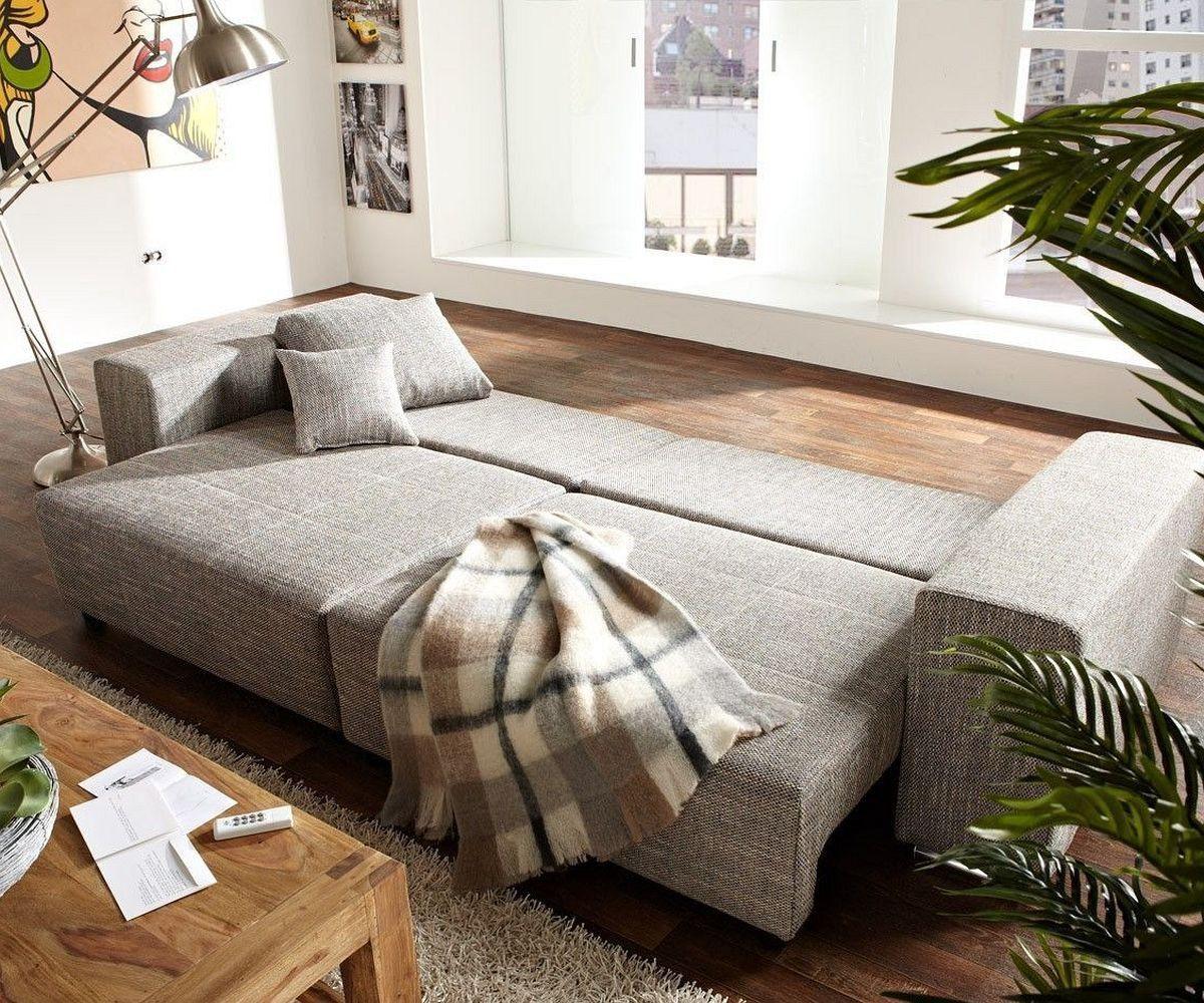 Bezaubernd Big Sofa Xxl Galerie Von Marbeya 290x110 Hellgrau Schlaffunktion
