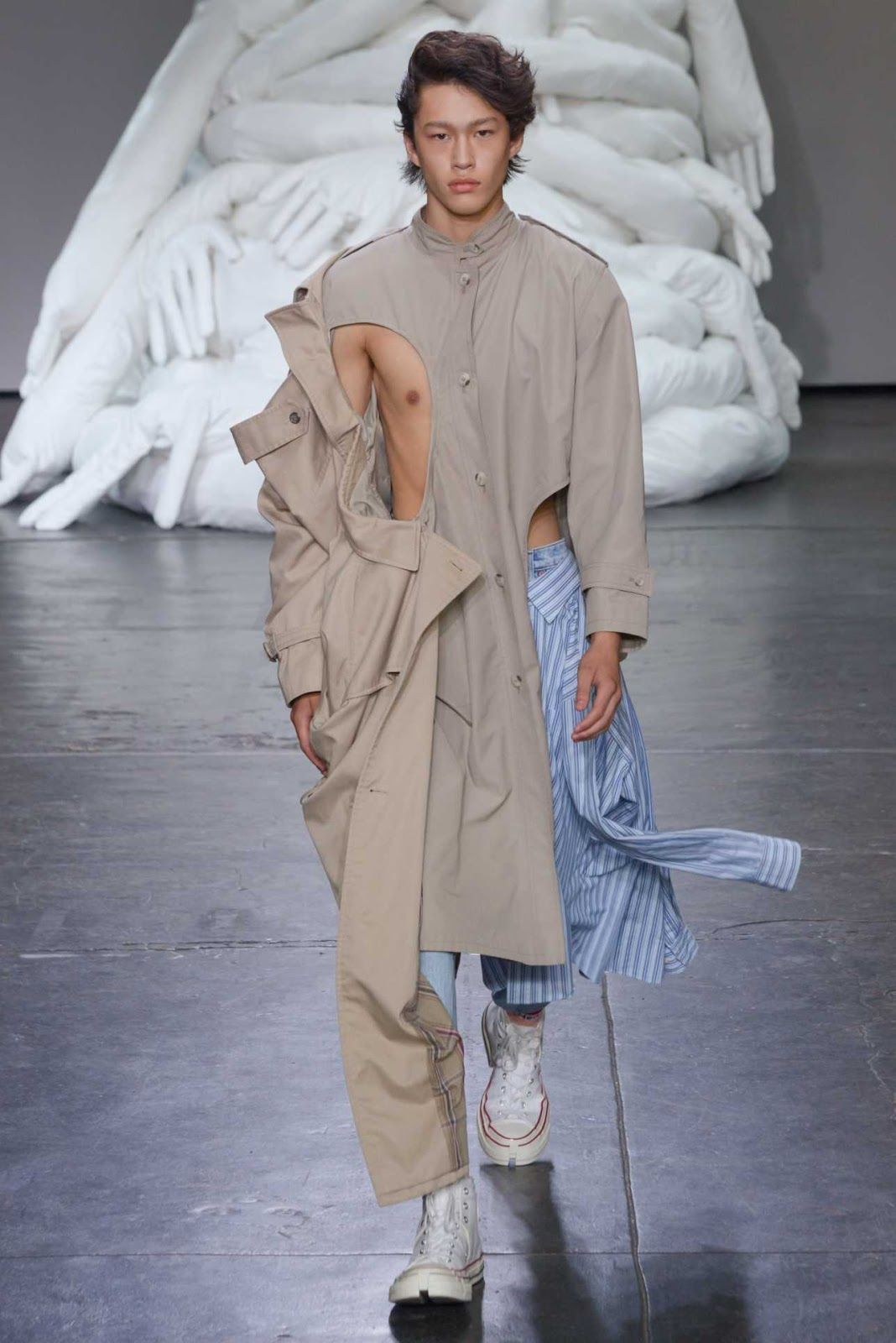 Feng Chen Wang Spring Summer 2019 New York Fashion Week Men S