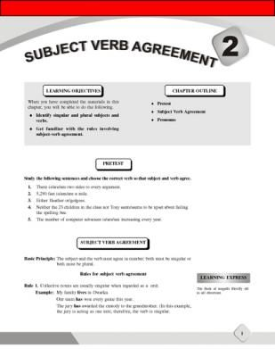 Subject-Verb Agreement from EduCafe on TeachersNotebook - (10